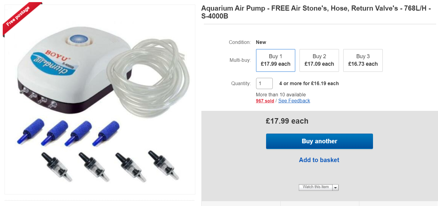 Air Pump from All Pond Solutions
